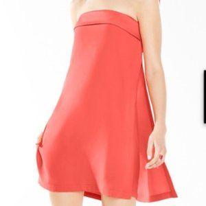 BCBG Amii Strapless A line Dress